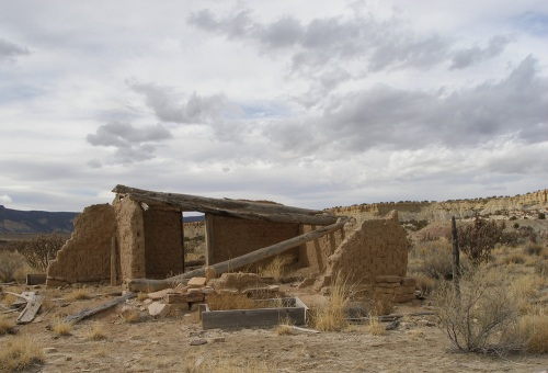 Adobe Ruins Ranch house