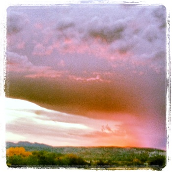 New Mexico sunset photo